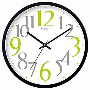 Silent Wall Clocks Modern Bedroom Living Room Modern Clock Simple Creative Quartz