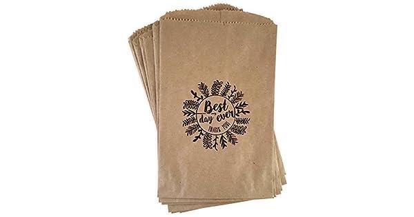 Amazon.com: Bolsas de papel de estraza Rustico, Boho ...