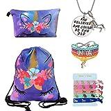 Unicorn Gifts for Girls - Unicorn Drawstring...