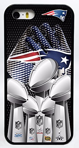 New England Patriots Gloves Compiled Super Bowl Trophies Phone Case Cover - Select Model