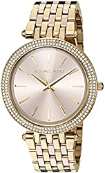 Michael Kors Women's Quartz Stainless Steel Automatic Watch, Color:Gold-Toned (Model: MK3507)