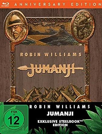 Jumanji - Steelbook [Blu-ray]: Amazon.es: Williams, Robin, Grier ...