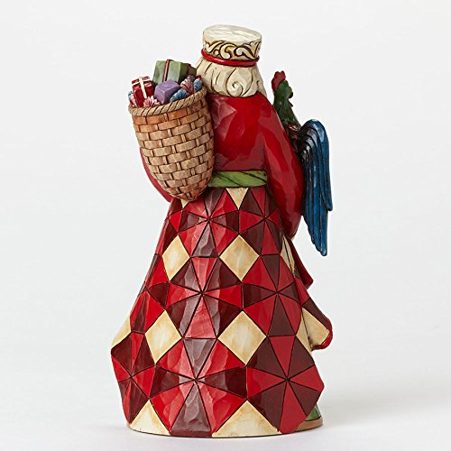 Jim Shore for Enesco Heartwood Creek Brazilian Santa Figurine, 7.25''