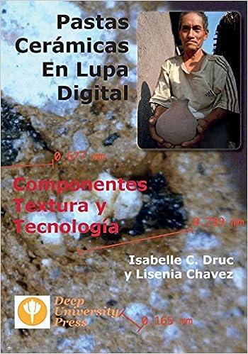 Book Pastas Ceramicas En Lupa Digital: Componentes, Textura y Tecnologia