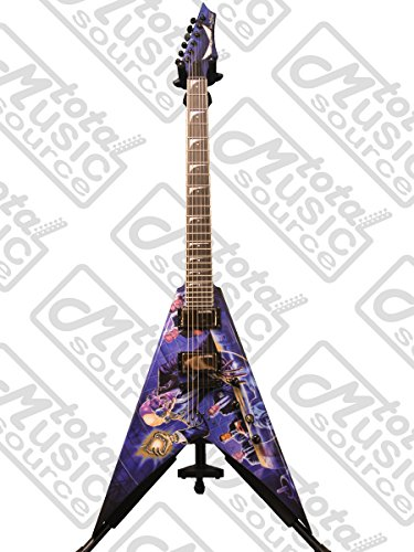(Dean V Dave Mustaine Guitar, Rust In Peace with Case)