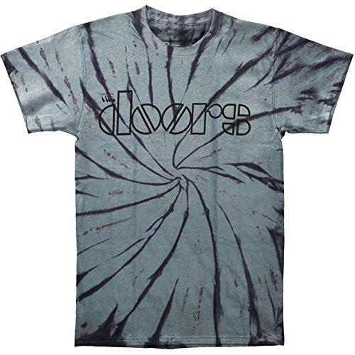 Doors Men's Classic Logo Tie Dye T-shirt Large Tie-Dyed