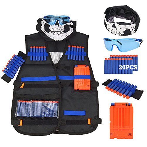 Tactical Vest Kit for Nerf Guns N-Strike Elite Series