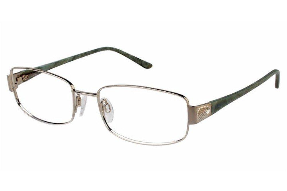 Charmant Womens Eyeglasses TI12111 TI/12111 WP White Full Rim Optical Frame 55mm