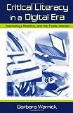 Critical Literacy in a Digital Era 9780805841152