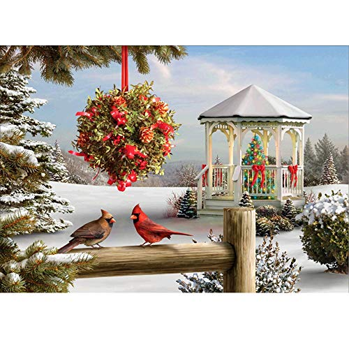 - SUNBIBEDIY 5D Diamond Painting Kit,Cute Snowman Santa Claus Reindeer Snow Cabin Rhinestone Cross Stitch Christmas Gift Embroidery Art Craft Supply for Xmas Home Wall Decor-Full Drill-30x40cm (A)