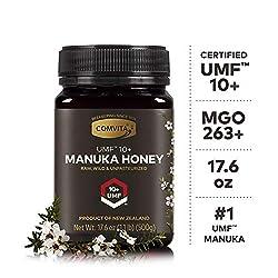 Comvita Certified UMF 10+ (MGO 263+) Raw Manuka Honey I New Zealand's #1 Manuka Brand I Authentic, Wild, Unpasteurized…