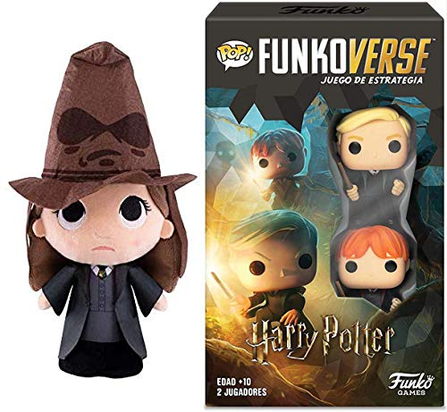 Let Hermoine Guide You Through This Strategy Game Plush Bundle Funkoverse Game Compatible with Harry Potter Strategy Expandalone Bundle 2 Items