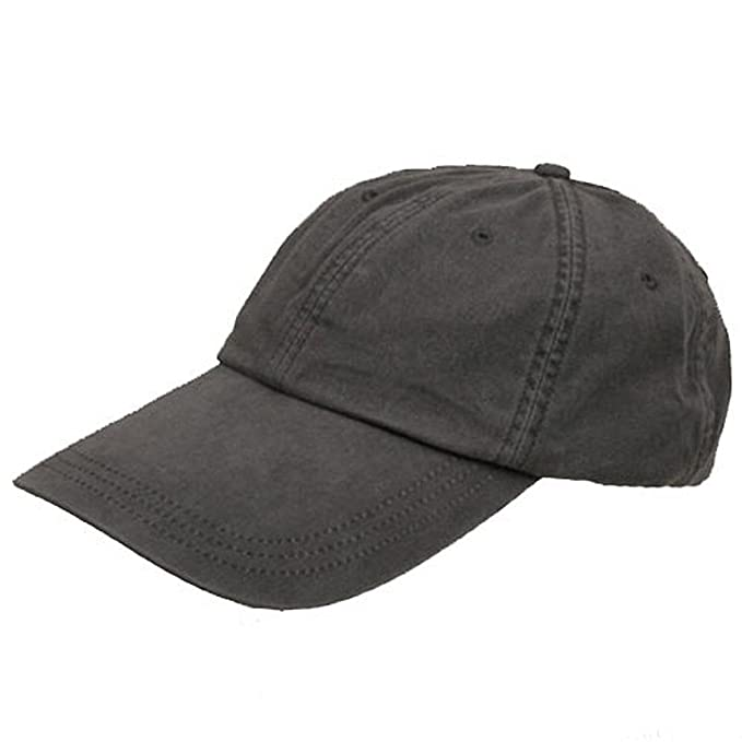Sunbuster Long Bill Caps-Charcoal at Amazon Men s Clothing store ... ca1a16681a6a