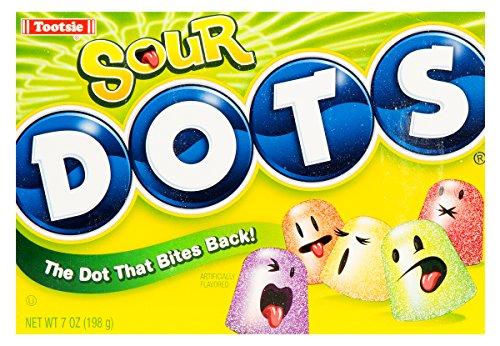 - Tootsie Sour Dots Assorted Flavor Gumdrops, 6 oz