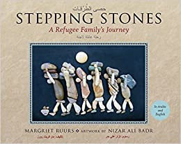 Stepping stones a refugee familys journey english and arabic flip to back flip to front fandeluxe Images