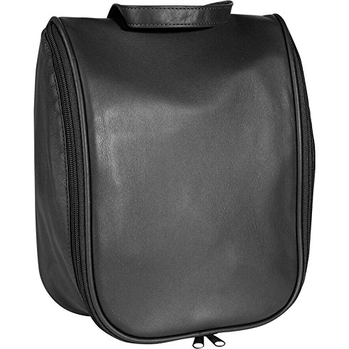 Royce Leather Toiletry Bag w/Removable Pouch (Black) by Royce Leather