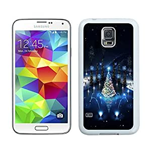 Personalization Lovely christmas Trees lighting White Samsung Galaxy S5 Case 1