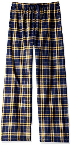 Boxercraft F19 Adult Team Pride Flannel Pants - Navy/Gold - S