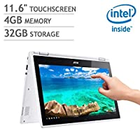 """Acer_Premium 2-in-1 Notebook Chromebook PC with 11.6"""" Touch Display, Intel Celeron N3150_Processor, 4GB_RAM, 32GB SSD, WiFi, Bluetooth, Chrome OS"""