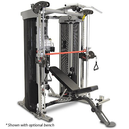 Inspire Fitness Ft2 Functional Trainer and Smith Station (Inspire FT2 (with Bench))