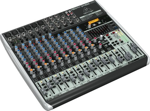 Mic Pre Compressor (Behringer Xenyx Qx1832Usb Premium 18-Input 3/2-Bus Mixer with XENYX Mic Preamps & Compressors, KLARK TEKNIK Multi-FX Processor, Wireless Option and USB/Audio Interface)