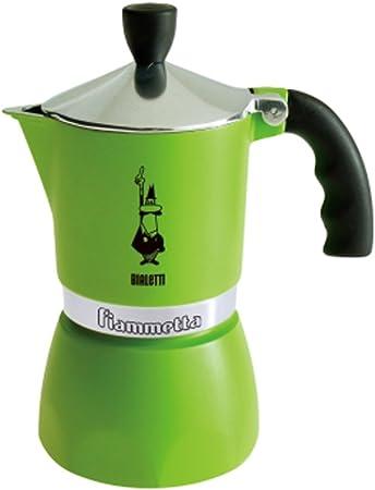 Bialetti Fiammetta, Verde - Cafetera italiana: Amazon.es: Hogar