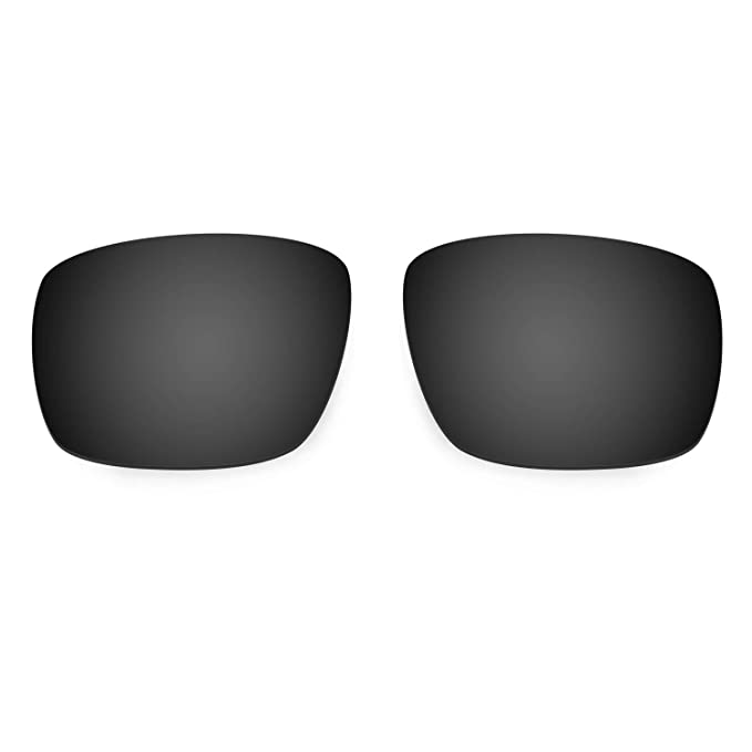 HKUCO Mens Replacement Lenses For Oakley Mainlink Sunglasses Black Polarized FY0XEB