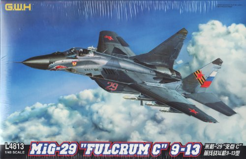 LNRL4813 1:48 Great Wall Hobby MiG-29 Fulcrum C 9-13 MODEL (48 Mig 29 Fulcrum)