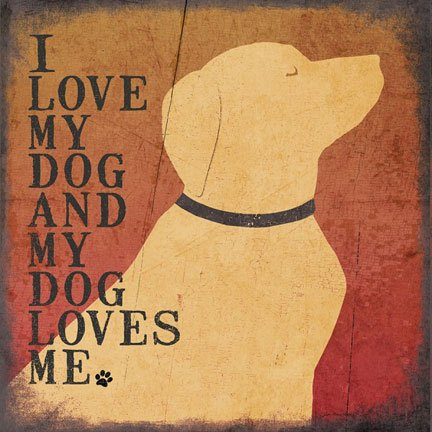 I Love My Dog and my Dog Loves Me by Jo Moulton 12