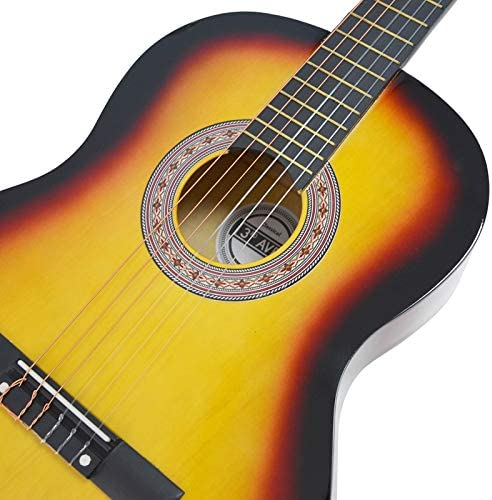 3rd Avenue Paquete de guitarra, Amarillo (Sunburst), Tamaño ...