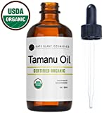 pur360 Tamanu Oil for Face and Skin by Kate Blanc. USDA Certified Organic, 100% Pure, Cold Pressed, Unrefined. Helps with Acne, Scars, Eczema, Psoriasis, Stretch Marks, Rosacea, Anti-Aging, and Dry Skin.
