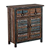 ideas for painted furniture Powell Furniture Calypso Console 2-Drawers/2-Doors