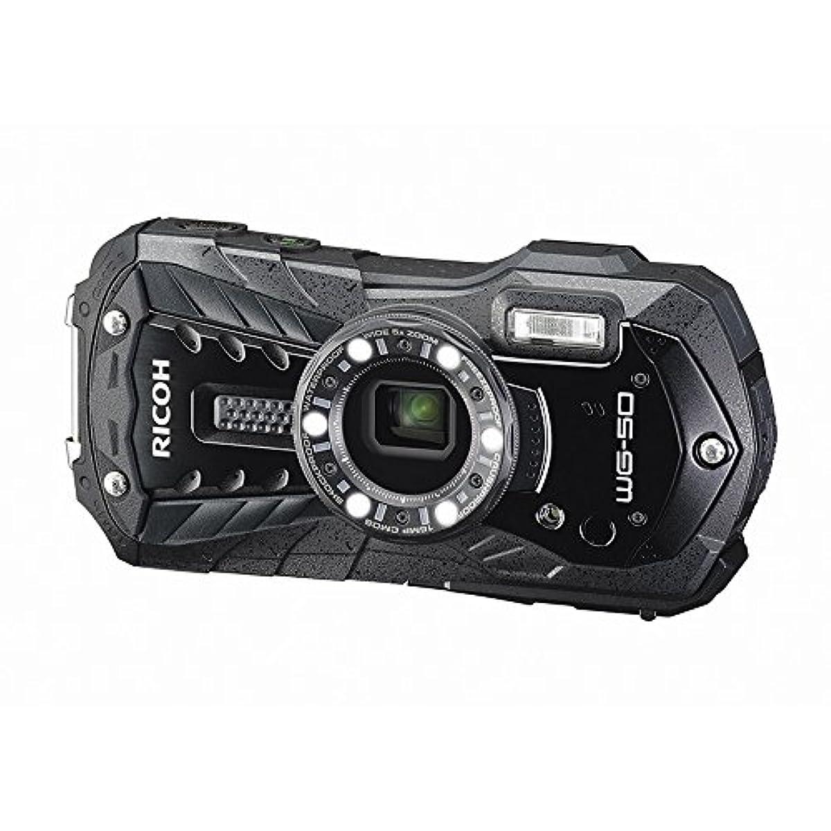 [해외] RICOH 리코 방수 디지털 카메라 WG-50 BK