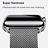 38MM Apple Watch HD Tempered Glass Screen Protector - Ultra Thin Glass - Maxmimum Protection From Scratches, Drops, Marks, Scuffs (Warranty Included) - iWatch Accessories iWatch Protector