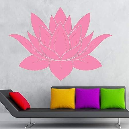 guijiumai Dctal Yoga Club Sticke Lotus Decal Posters Yug Vinyl ...