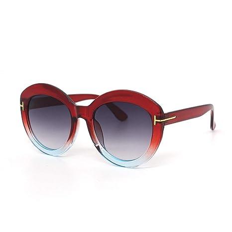 Yangjing-hl Gafas de Sol cuadradas Grandes de Moda Gafas de ...