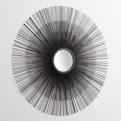 Cyan Design 05831 Double Solar Flare Mirror by Cyan Design