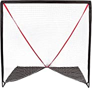 Trademark Innovations 6' Backyard Portable Lacrosse Goal with Carry