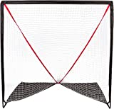6' Backyard Portable Lacrosse Goal with Carry Bag by Trademark Innovations