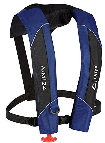 - ABSOLUTE OUTDOOR Onyx A/M-24 Automatic/Manual Inflatable Life Jacket
