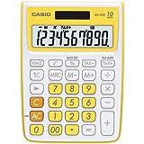 Casio MS-10VC Standard Function Calculator, Yellow