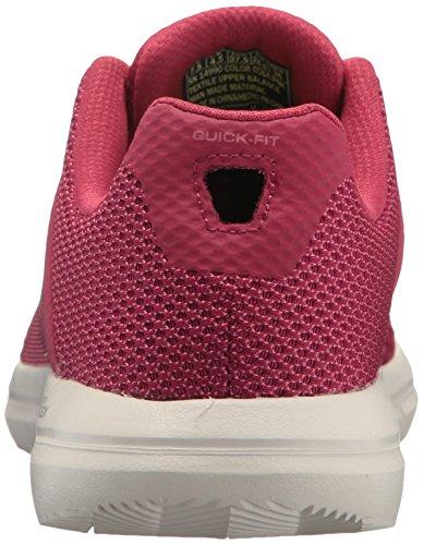 Skechers Womens Go Flex 2-14990 Sneaker Rosa