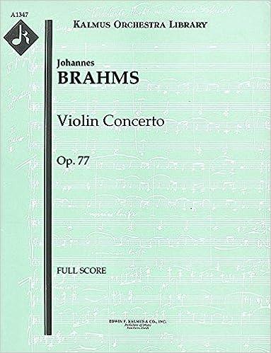 Violin Concerto, Op.77: Full Score [A1347]