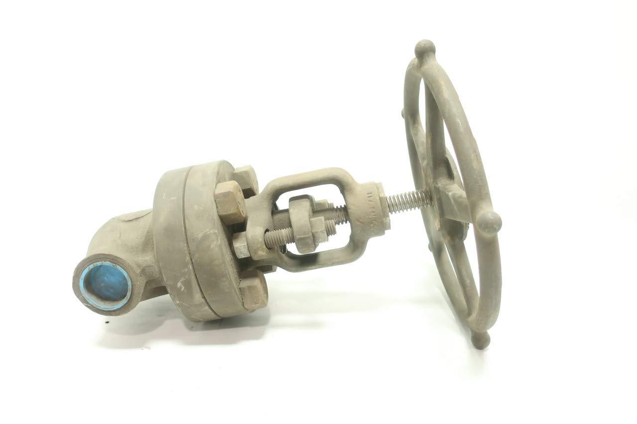 HENRY VOGT SW15141 Manual Steel Socket Weld Globe Valve 1IN 1500