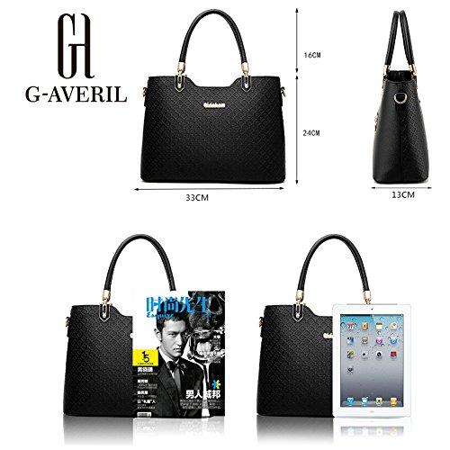 G-AVERIL - Bolso mochila  para mujer morado morado blanco