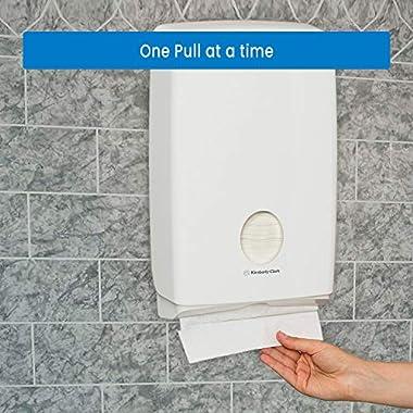 Scott Multi Fold Hand Towel 28610 - M Fold Paper Towel - 16 Packs x 250 Sheets - White Folded Paper Towel Sheets 24 cm X 23.1 cm (4000 Total) 10