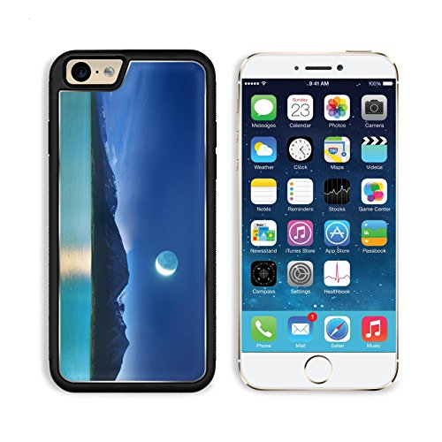 MSD Premium Apple iPhone 6 Plus iPhone 6S Plus Aluminum Backplate Bumper Snap Case IMAGE ID: 9248618 moonlight
