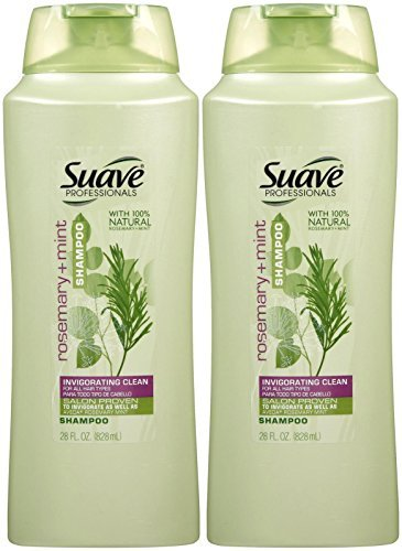 Suave Professionals Shampoo - Rosemary and Mint - 28 oz - 2 Pack