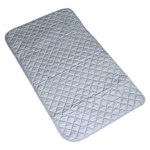 "Life Journey Tech Magnetic Ironing Mat Pad Cover for washer, dryer or anywhere. 23.6"" x 21.6"". Can be used as a padding protector for your appliances. Perfect iron blanket for quilting or travel."