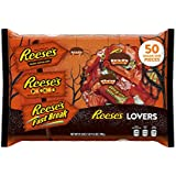 REESE'S Lovers' Halloween Assortment (27.8-Ounce, 50-Pieces)